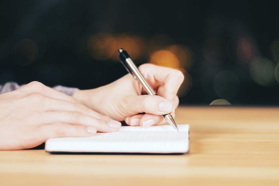 やりたいことをリストに書き出してみる