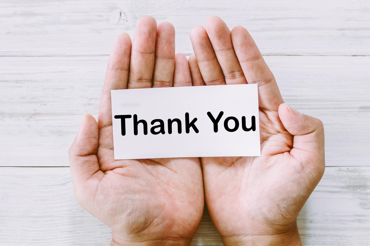 従業員への感謝